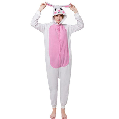 Rabbit Onesie Union Suit Pajama