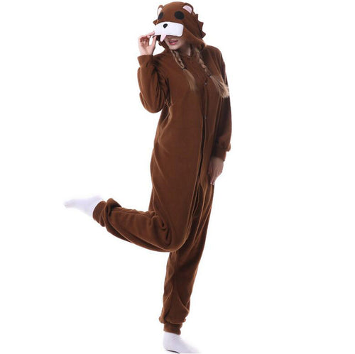 Bear Onesie Union Suit Pajama