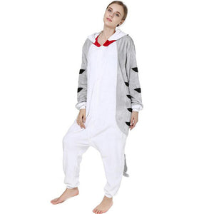 Cat Onesie Union Suit Pajama