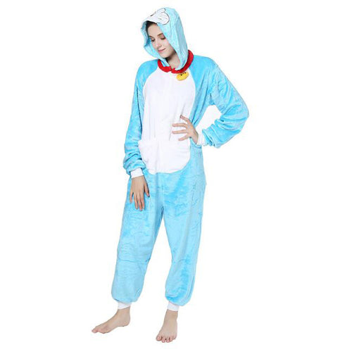 Doraemon Onesie Union Suit Pajama