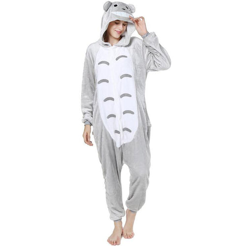 Chinchilla Onesie Union Suit Pajama