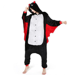 Bat Onesie Union Suit Pajama
