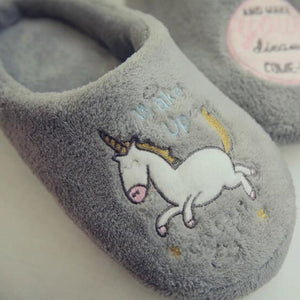 Cockhorse Prints Flat Slipper