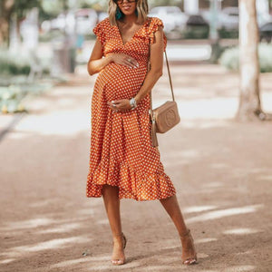 Summertime Polka Dots Dress