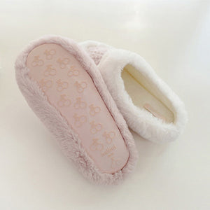 Love Me Tender Slipper In White