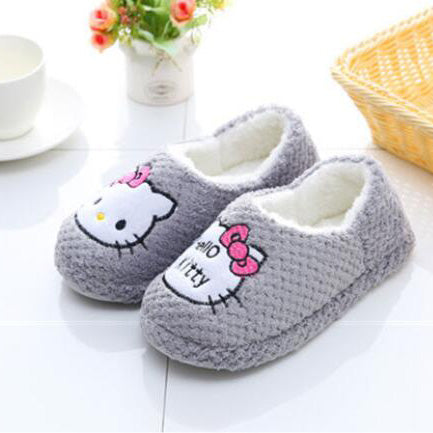Gray Hello Kitty Slipper