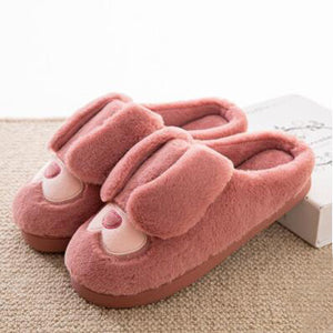 Skin Red Warm Slippers