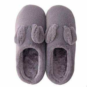 Warm Slippers In Gray