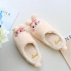 Babbit Slippers In Pink