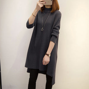 High Collar Knitting Bottoming Shirt Maternity Sweater