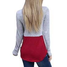 Color-Blocking Cloak High Collar String Long Sleeves Sweater