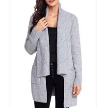 Maternity Solid Color Loose Cardigan