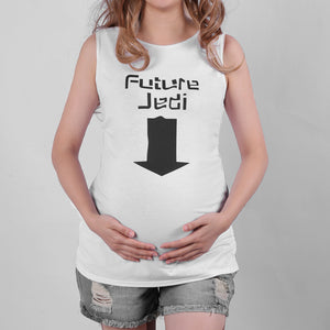Maternity Letter & Arrow Print Tank Top