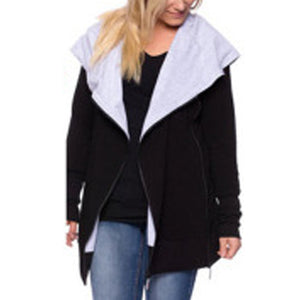 Long Sleeves Lactation Maternity Coat