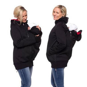 Three-In-One Multi-Function Maternity Kangaroo Hoodie