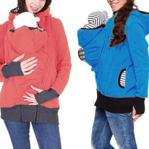 Maternity Removable Multifunctional Kangaroo Hoodie