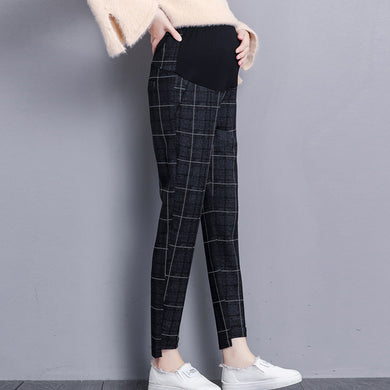 Maternity Lattice Adjustable Casual Haren Pants