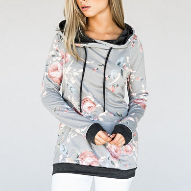 Printing Long Sleeves Tether Hoodie