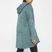 Casual Comfort Long Sleeves Hooded Cardigan