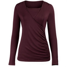 Maternity Feeding & Nursing Long Sleeve Tee