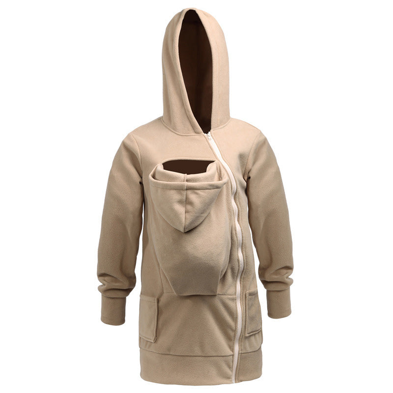 Maternity Multifunctional Long Sleeve Hoodie
