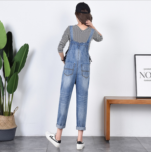 Women Dungarees Clothes Trousers Prop Belly Legging Pregnancy Clothing Bib Overalls Pants