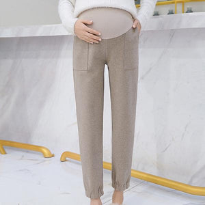 Maternity High Waist Lift Belly Harlan Sweatpants