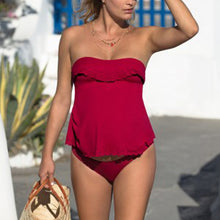 Maternity Lace Tankini Swimsuit