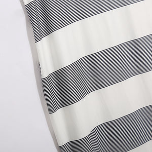 Maternity Side Slit Cut Wide Stripes Sundress