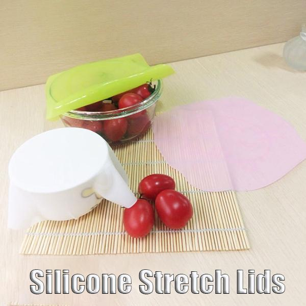 Silicone Stretch Lids (3 Pcs)