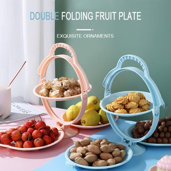 Foldable 3-ply Fruit Plate