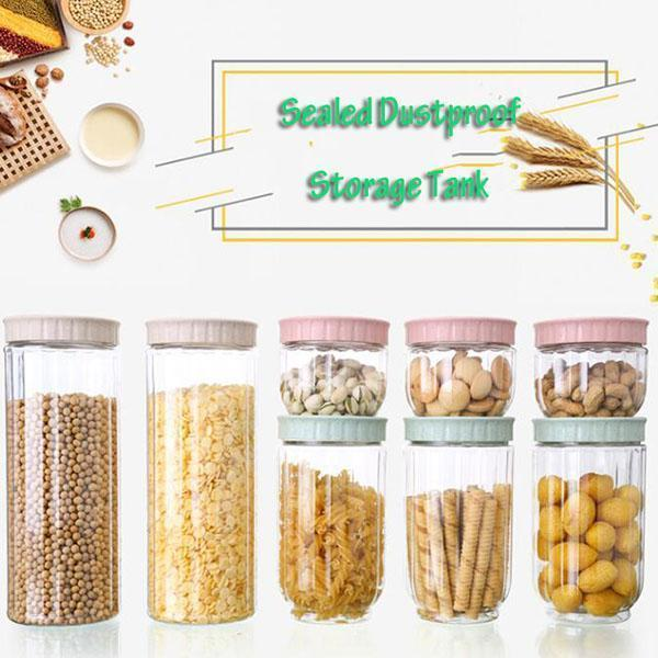 (60% OFF) Sealed Dustproof Storage Tank Set