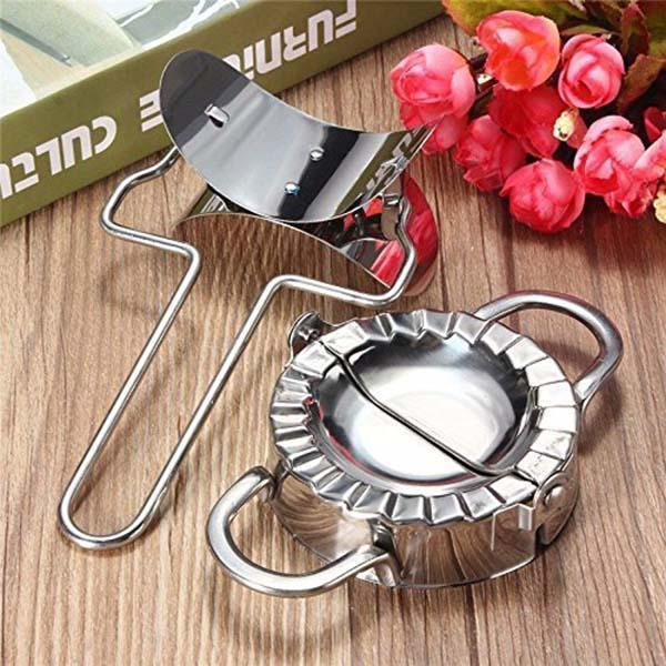(60% 0FF) Stainless Steel Dumplings Maker Set