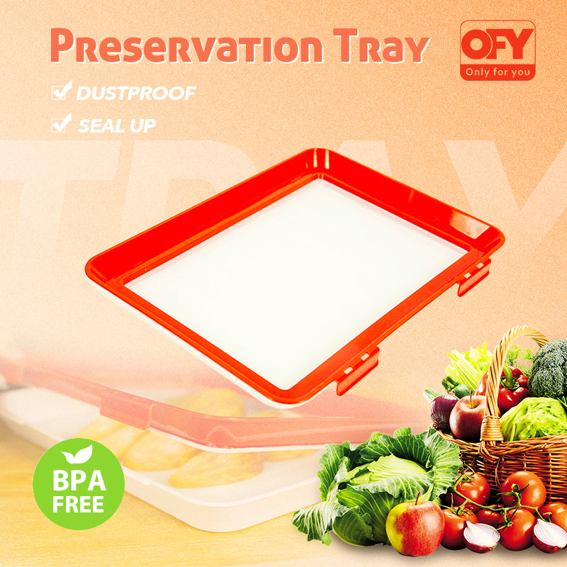 (Up to 69% OFF) OFY Food Preservation Tray (Ship within 1-3 days)