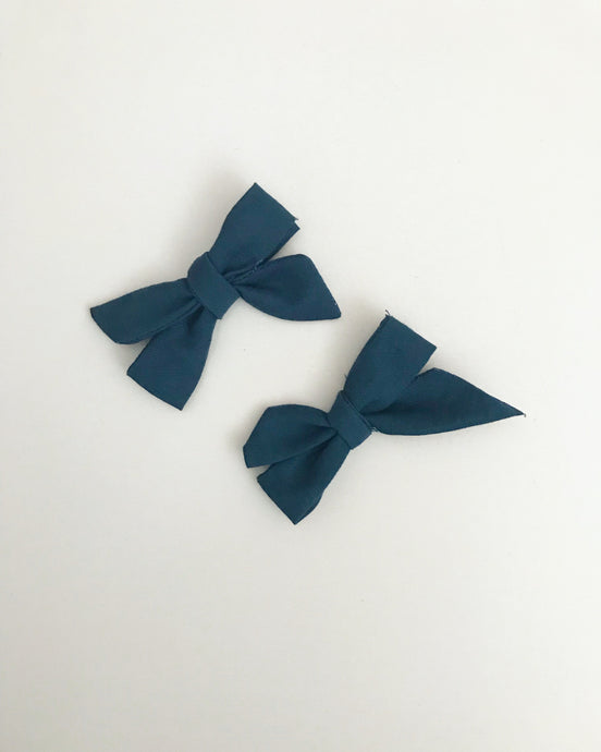 Mini Sailor Bow Set
