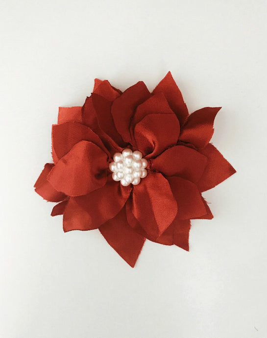 Poinsettia Bow