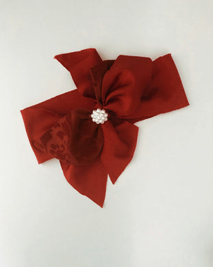 Christmas Hair Wrap