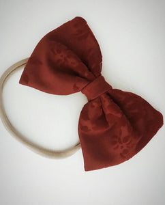 Amaryllis Hair Bow