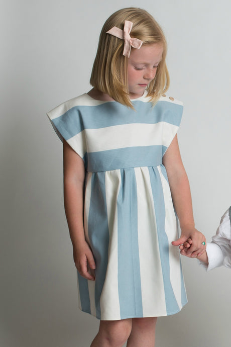 Striped Edith Dress