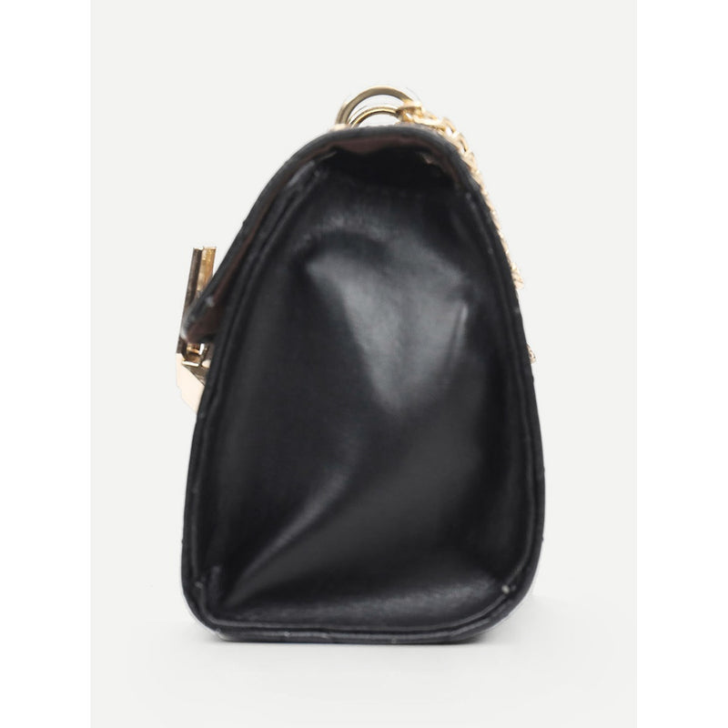 Shop Quilted Chain Bag Shop High Fashion Clothing And Accessories Now