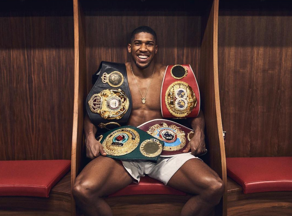 World Champion Anthony Joshua
