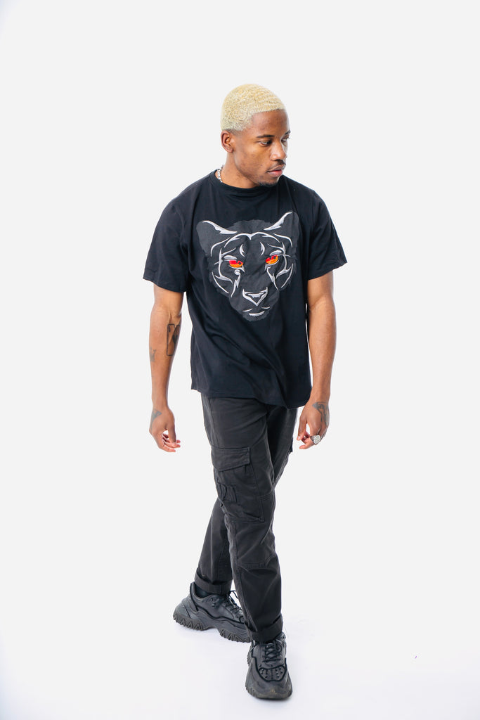 Panther T shirt - Black