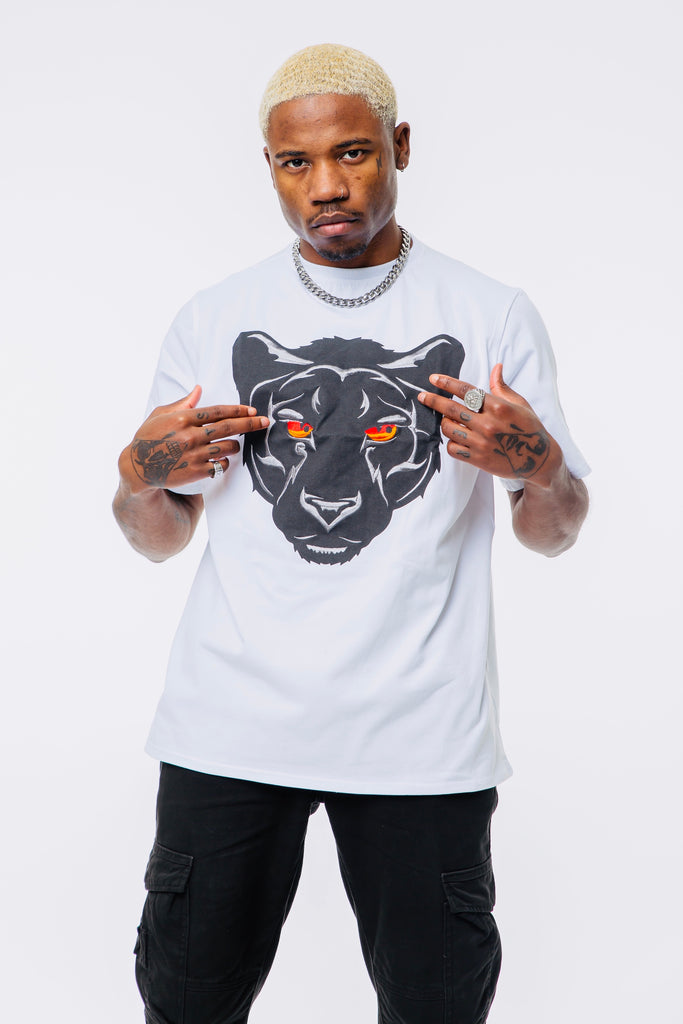 Panther T shirt - White
