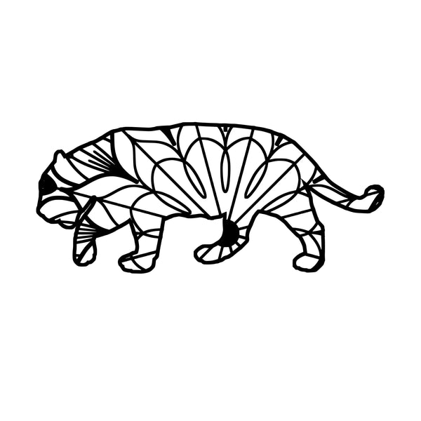 "and I Helped."" Jaguar Mandala Jaguar Mandala Svg"