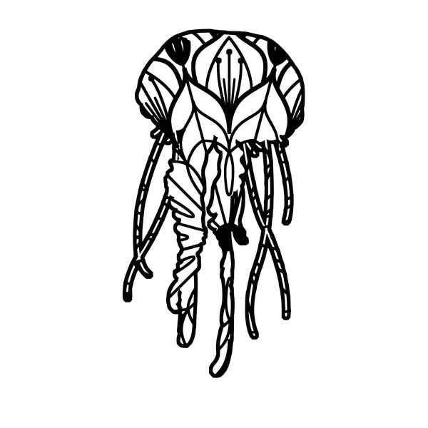 Mandala makes your day. Jellyfish 1 Mandala Jellyfish 1 Mandala Svg