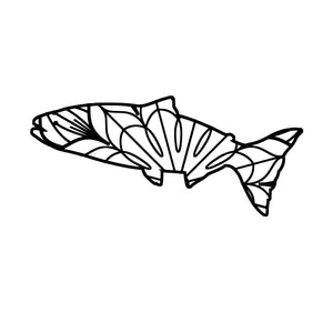 King Salmon Mandala King Salmon Mandala Svg