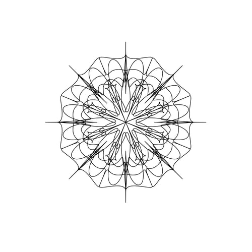 Mandala Laser Cutting Svg Monogram Downloads