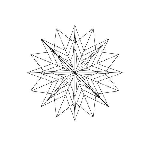 Mandala Monogram Svg Files
