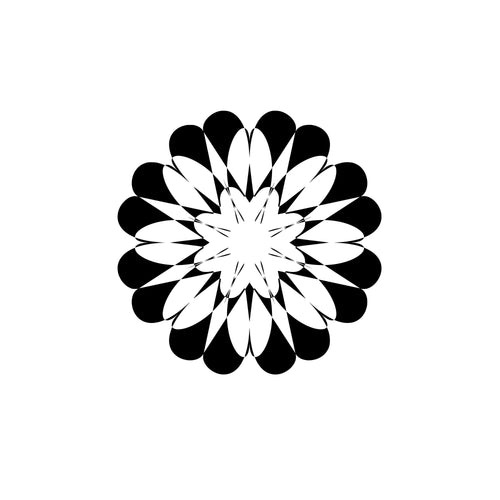 Mandala Monogram Svg Silhouette Files