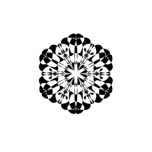 Svg Mandala Clip Art Silhouette Files